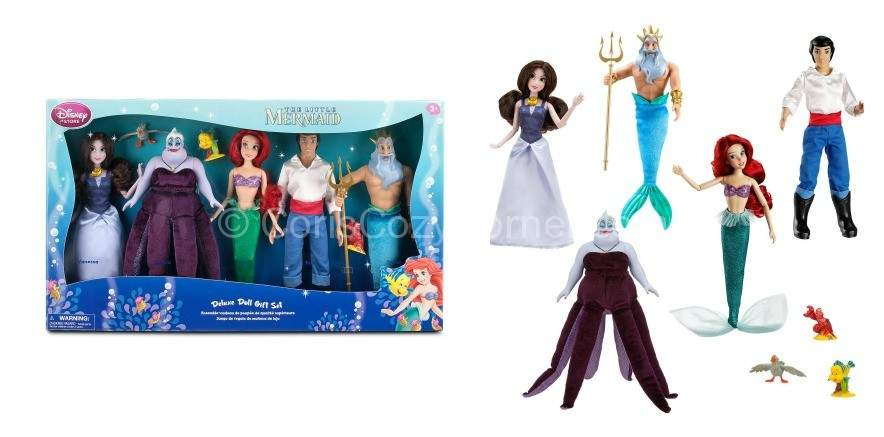 Little Mermaid Deluxe Doll Gift Set