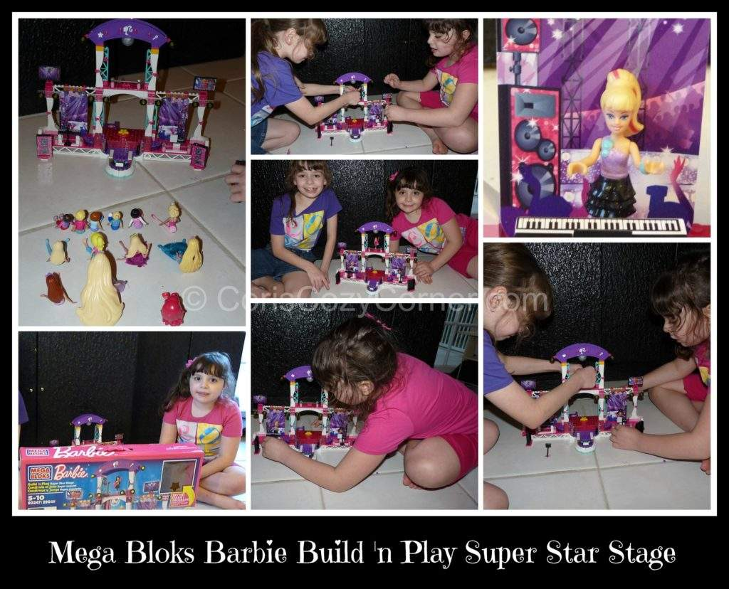 Mega Bloks Barbie Collage