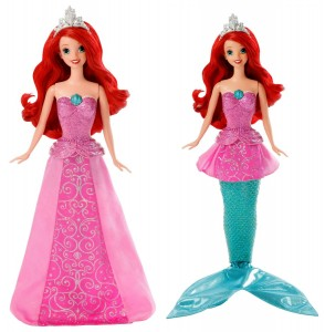 Mermaid to Princess Ariel