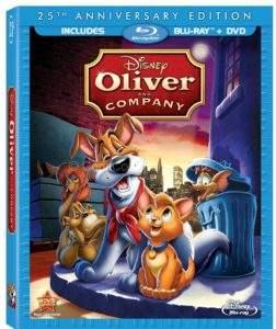 Oliver and Company Box Art
