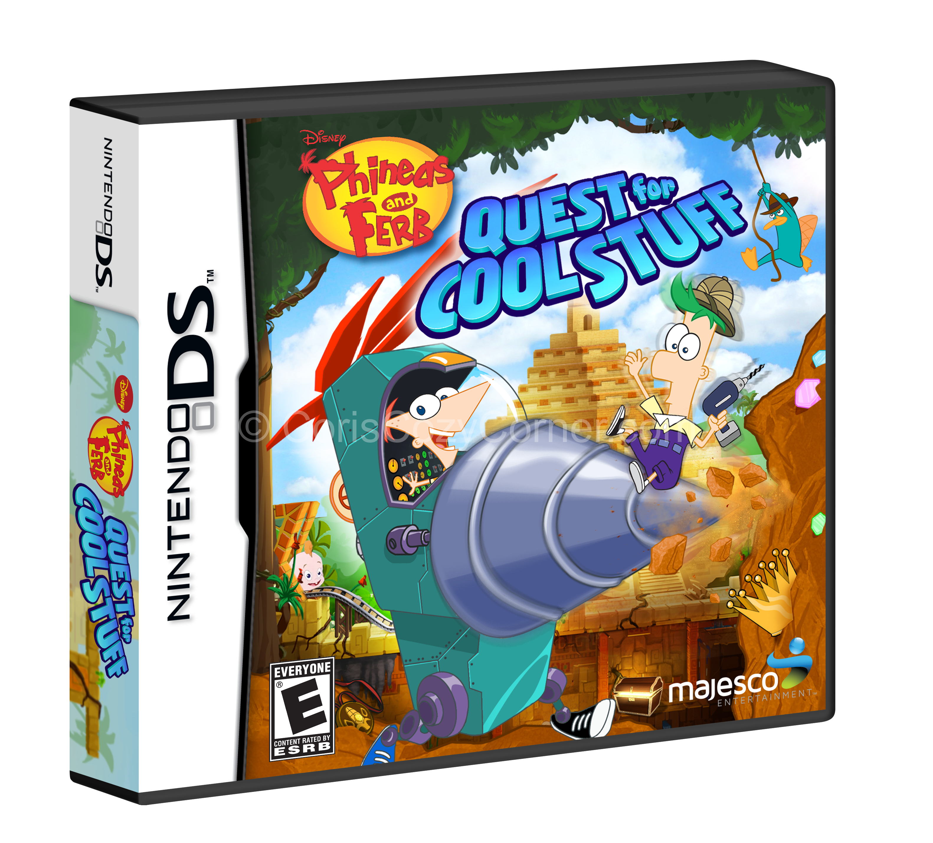 Phineas And Ferb Quest For Cool Stuff Nintendo 3ds Game Product Review Cori S Cozy Corner