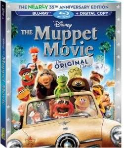 The Muppet Movie Box Art