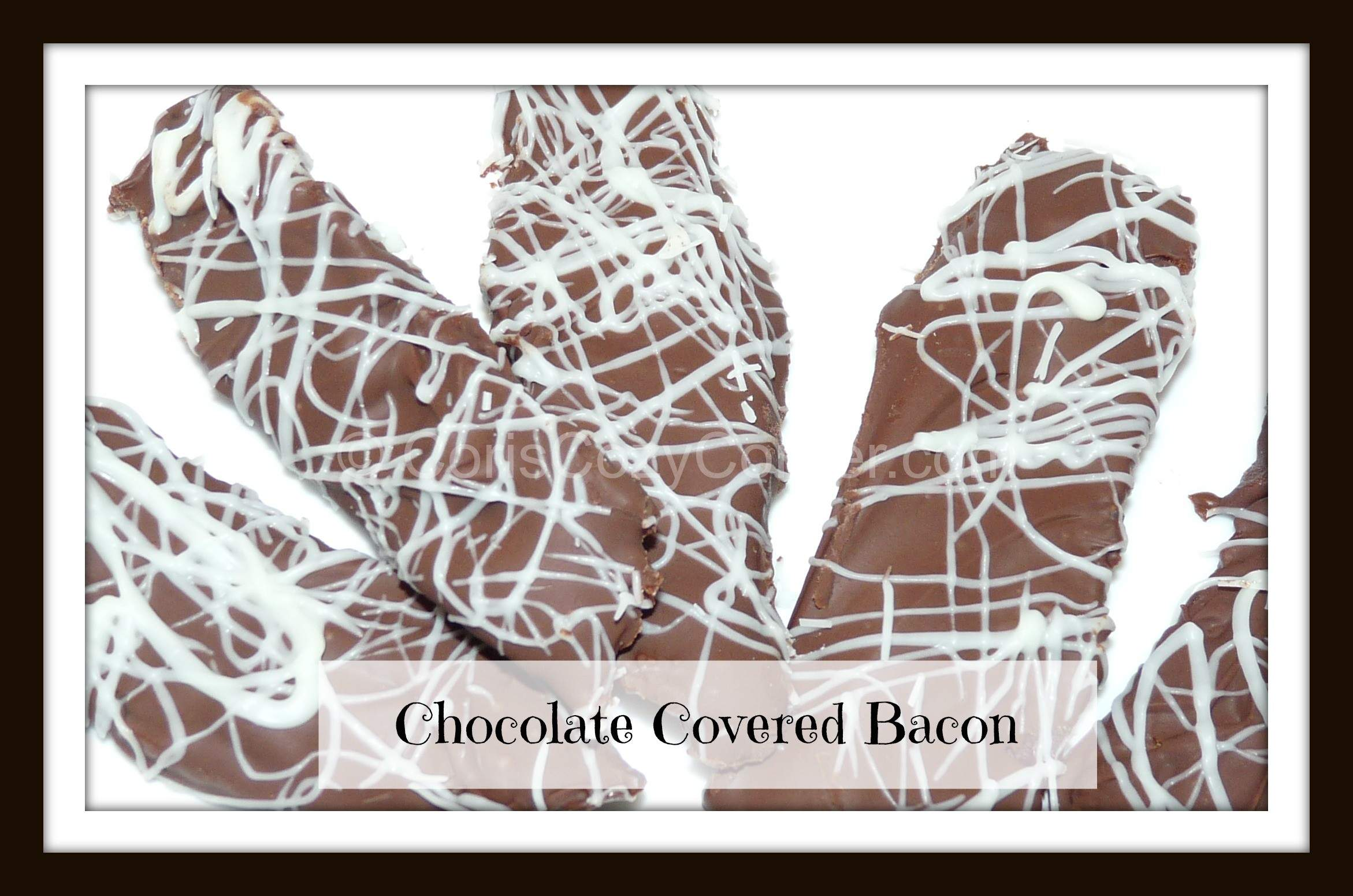 .....For Dessert! Chocolate Covered Bacon and Maple Bacon Milkshake ...