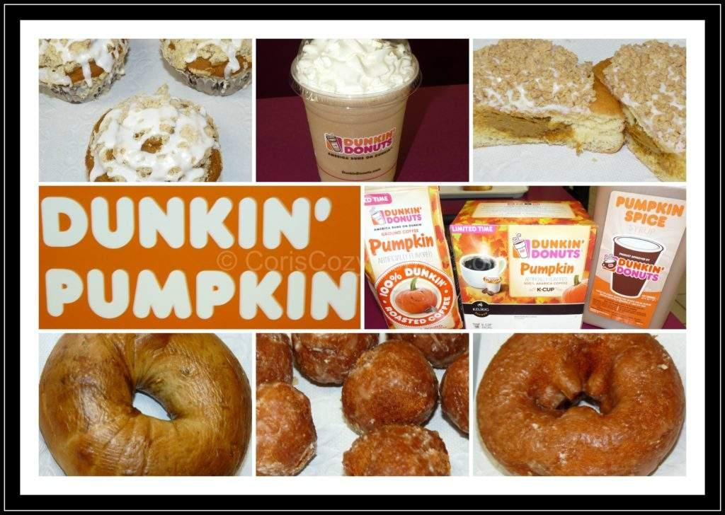 Dunkin Pumpkin