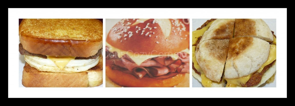 Dunkin Sandwiches