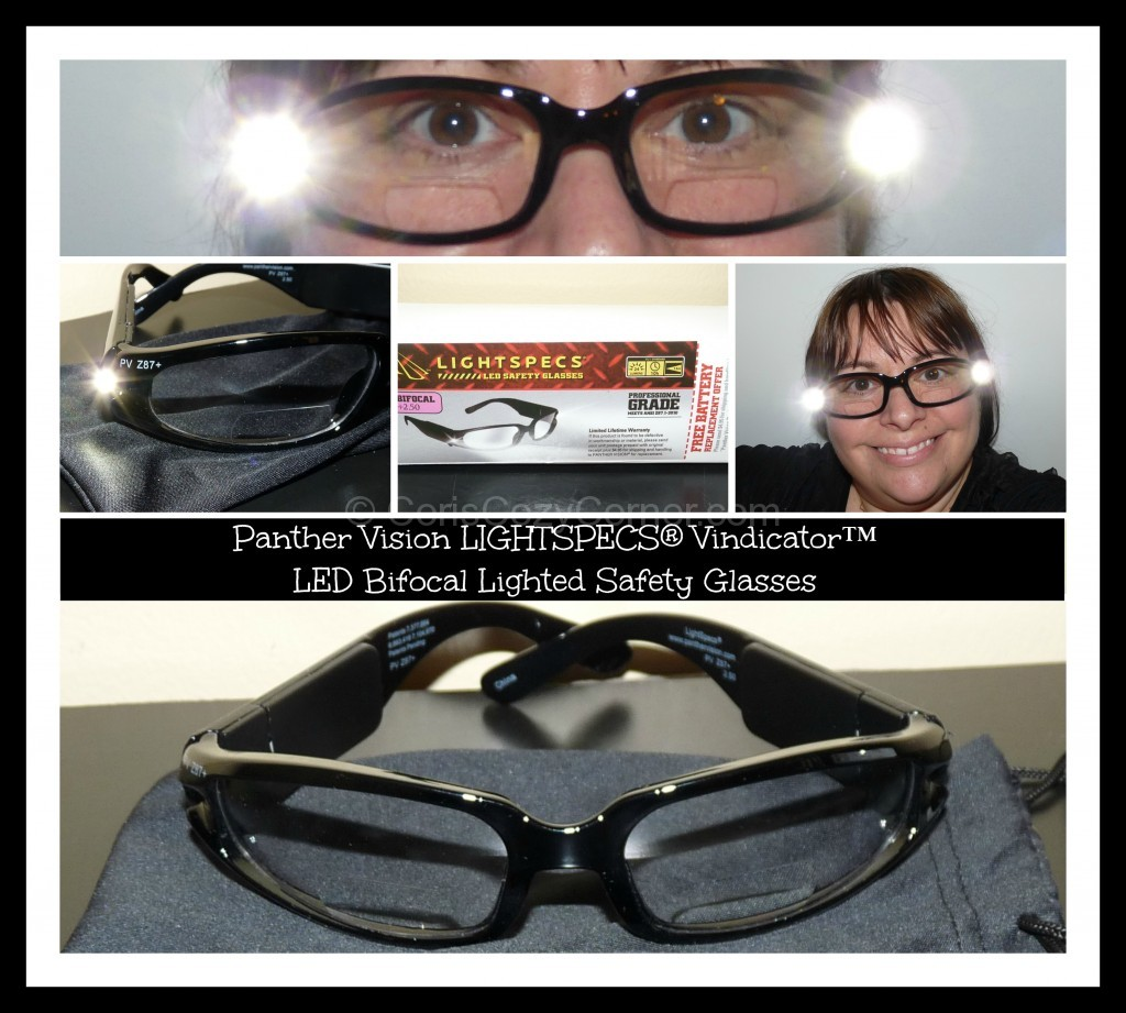 LIGHTSPECS® Vindicator™ LED Lighted Safety Glasses