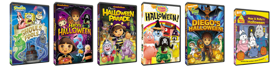 Nickelodeon Halloween DVD Roundup