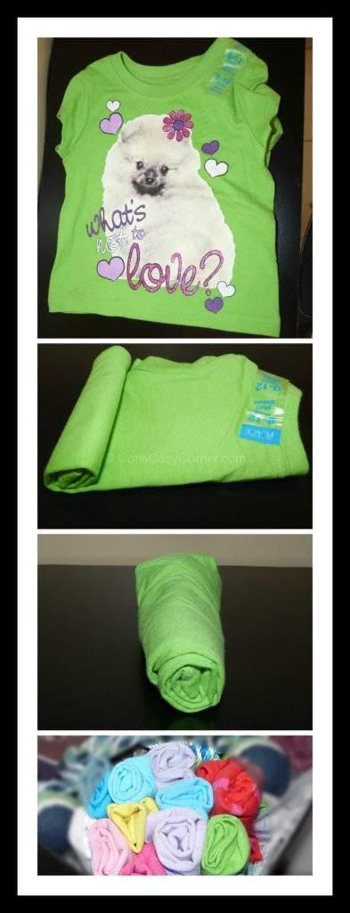 t-shirt rose collage