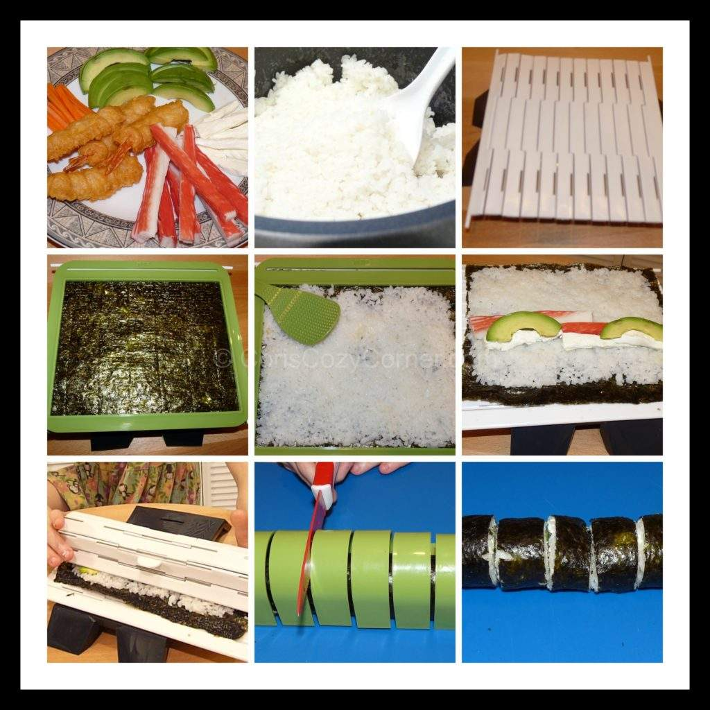 sushiquik collage