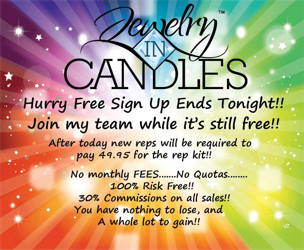 Jewelry in Candles Rep Join my Jewelry in Candles
