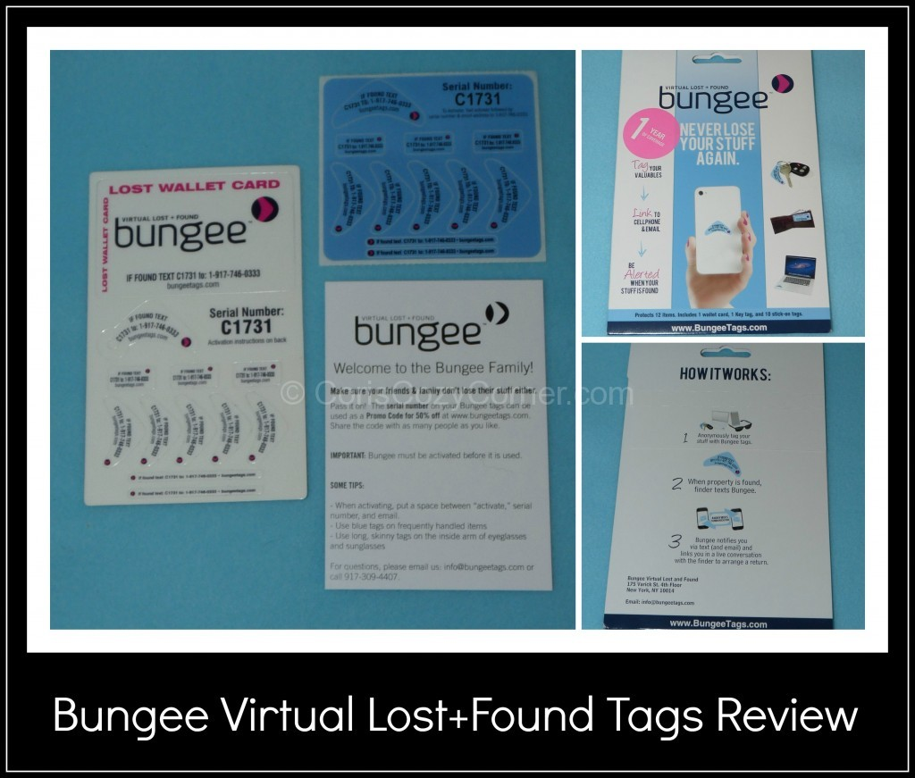 Bungee Virtual Lost Found Tags Review