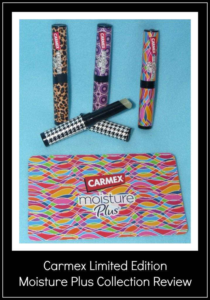 Carmex Limited Edition Moisture Plus Collection Review