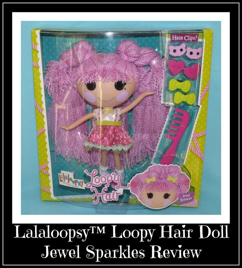 Jewel Sparkles lalaloopsy loopy hair doll