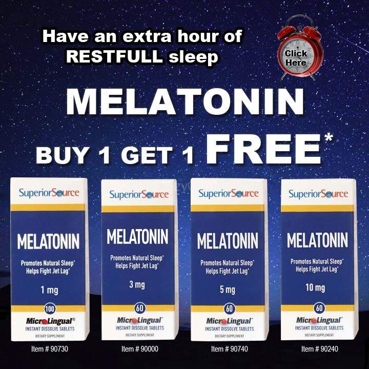Melatonin BOGO 11.4-8.13