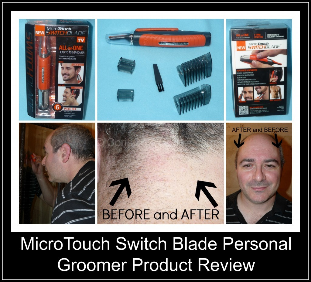 MicroTouch Switch Blade Personal Groomer