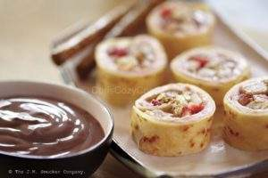 Peanut Butter Rolls Sushi Style