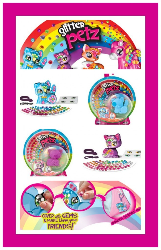 glitter petz collage