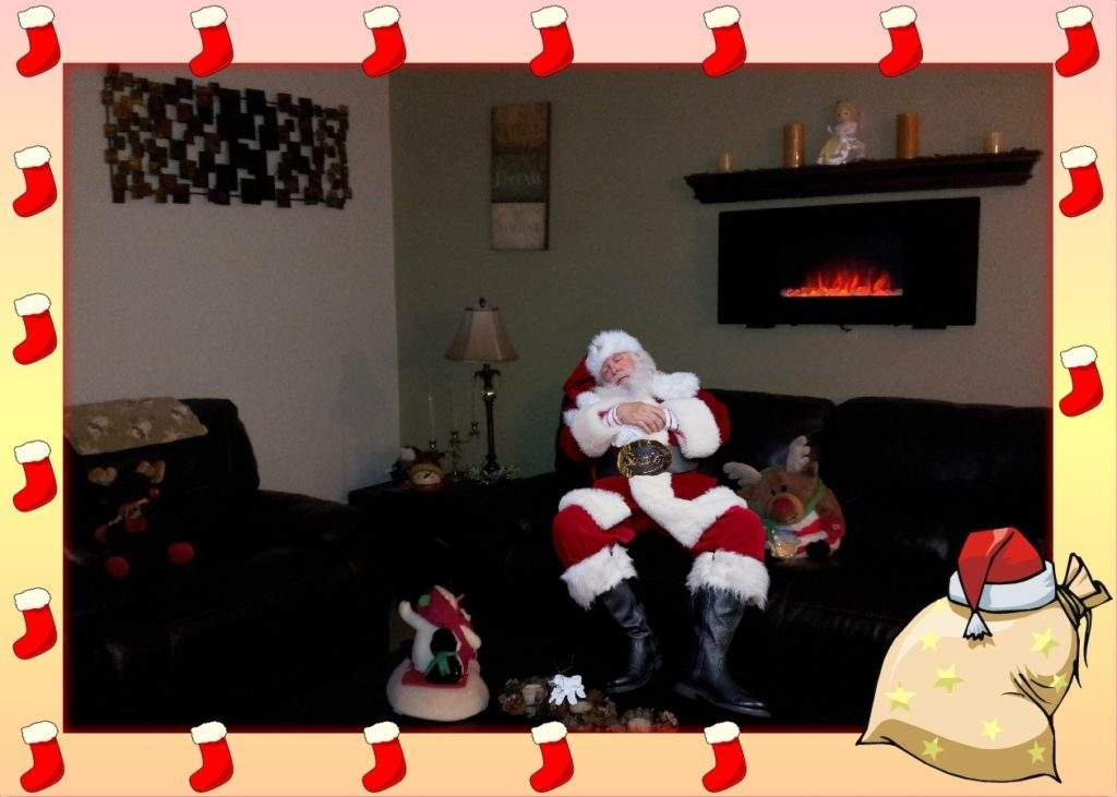 caught santa picture