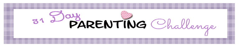 31 day parenting challenge banner