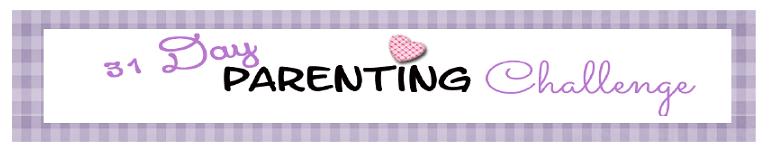 31 day parenting challenge banner