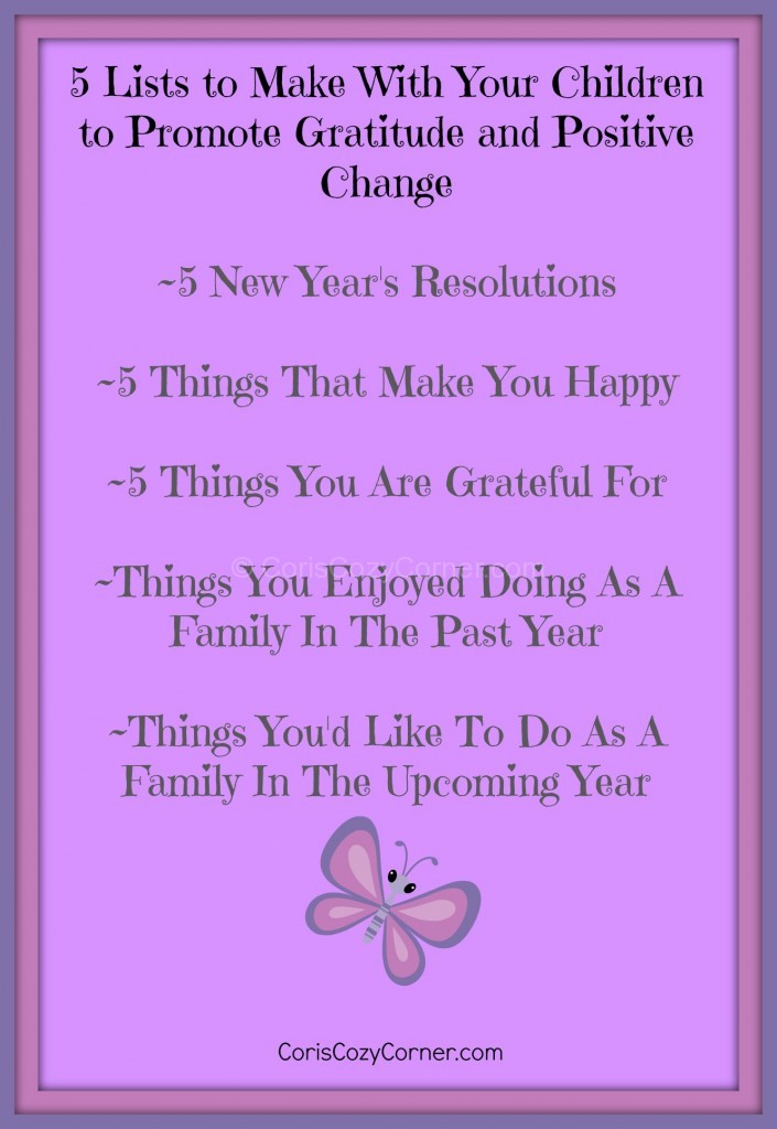 gratitude and positive change