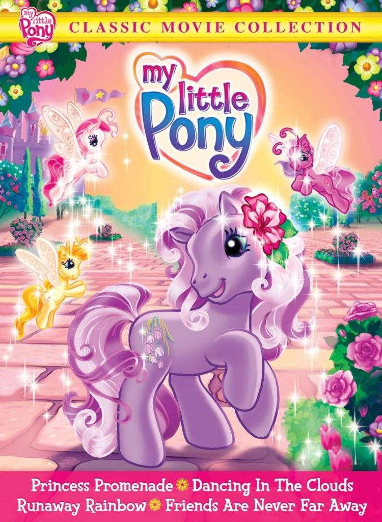 my little pony classic dvd