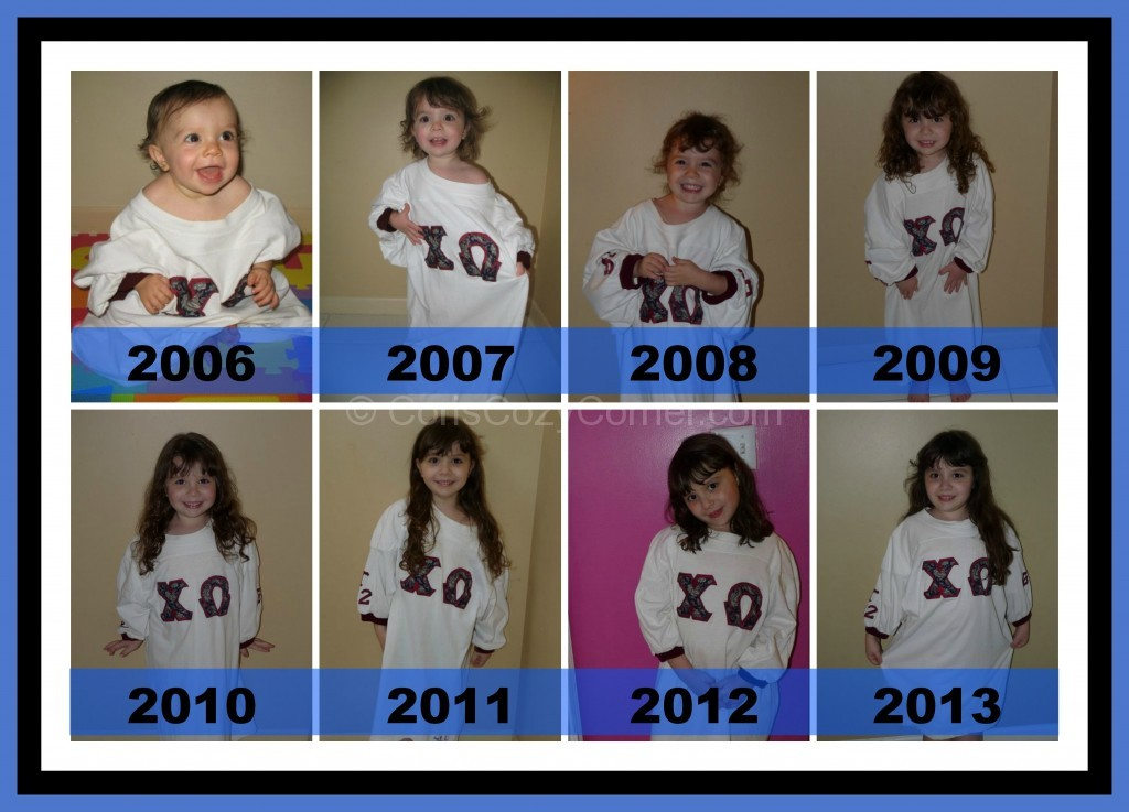 daniella collage with years blue