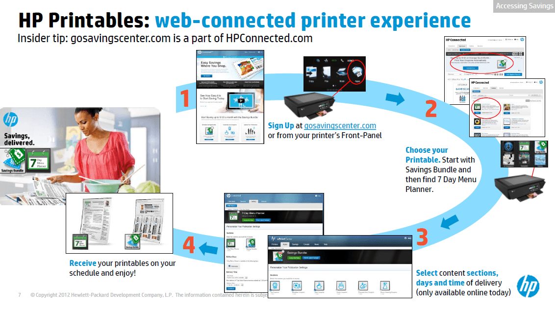 HP Saving Center and More HP Printer Services