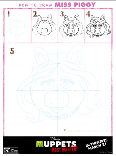 draw piggy