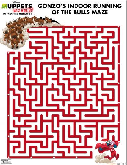 gonzo maze