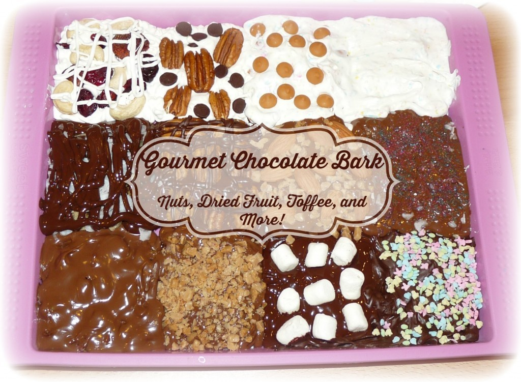 gourmet chocolate bark