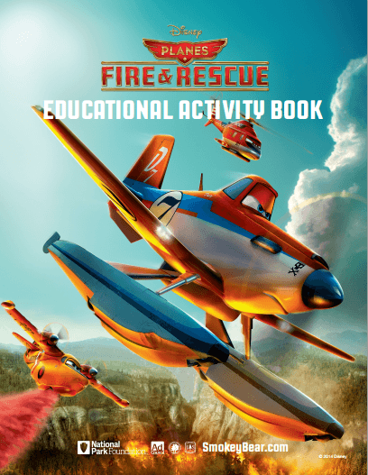Planes Fire and Rescue Booklet
