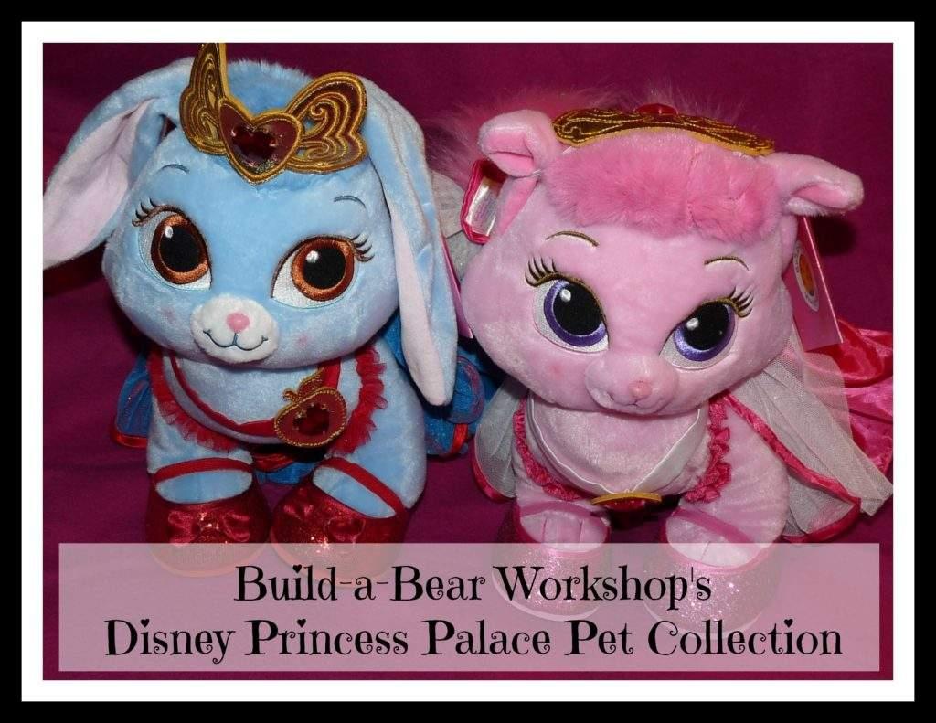build a bear disney princess palace pet collection