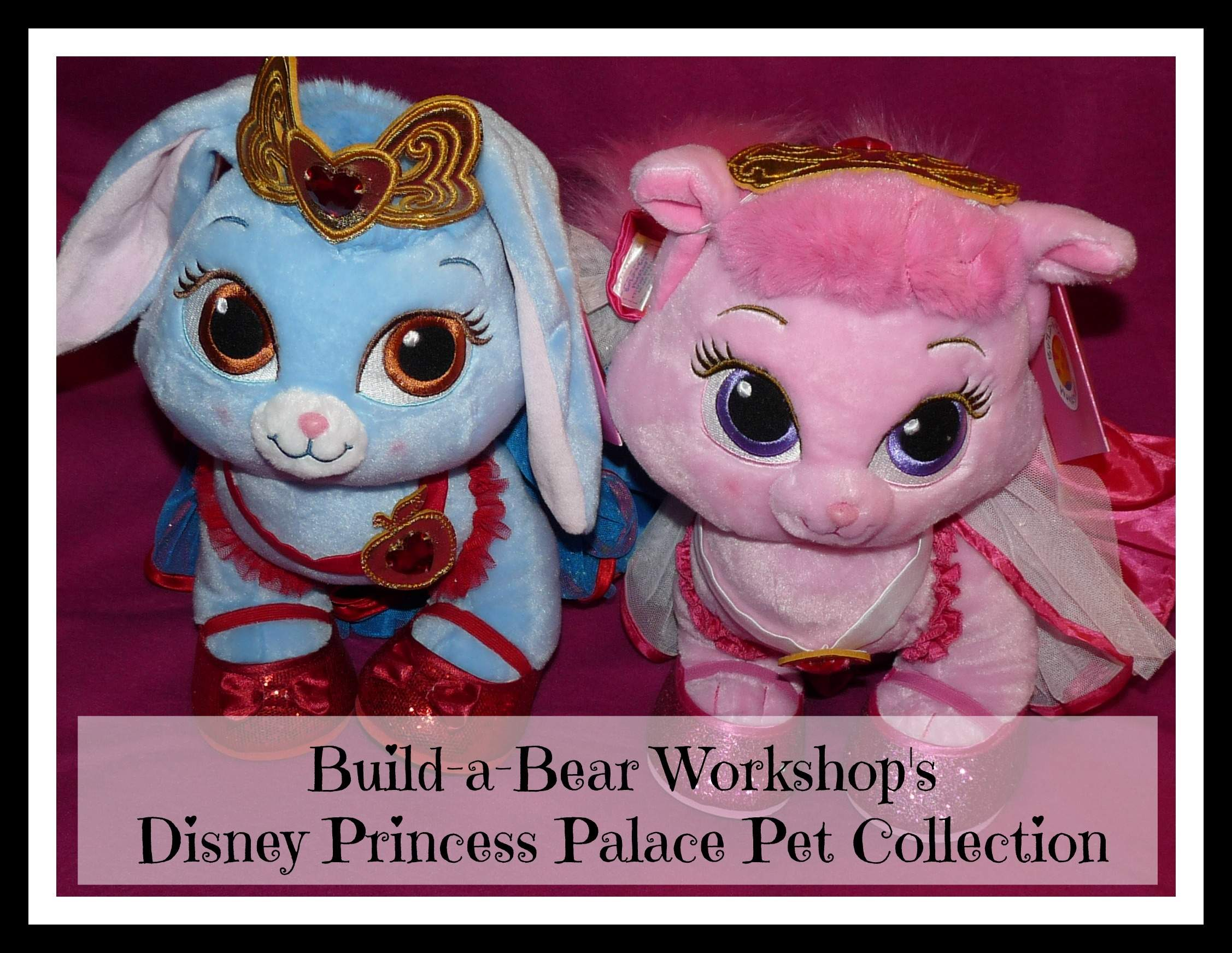 Build A Bear Disney Princess Palace Pets Summer Accessory Set 3 pc Crown Bow