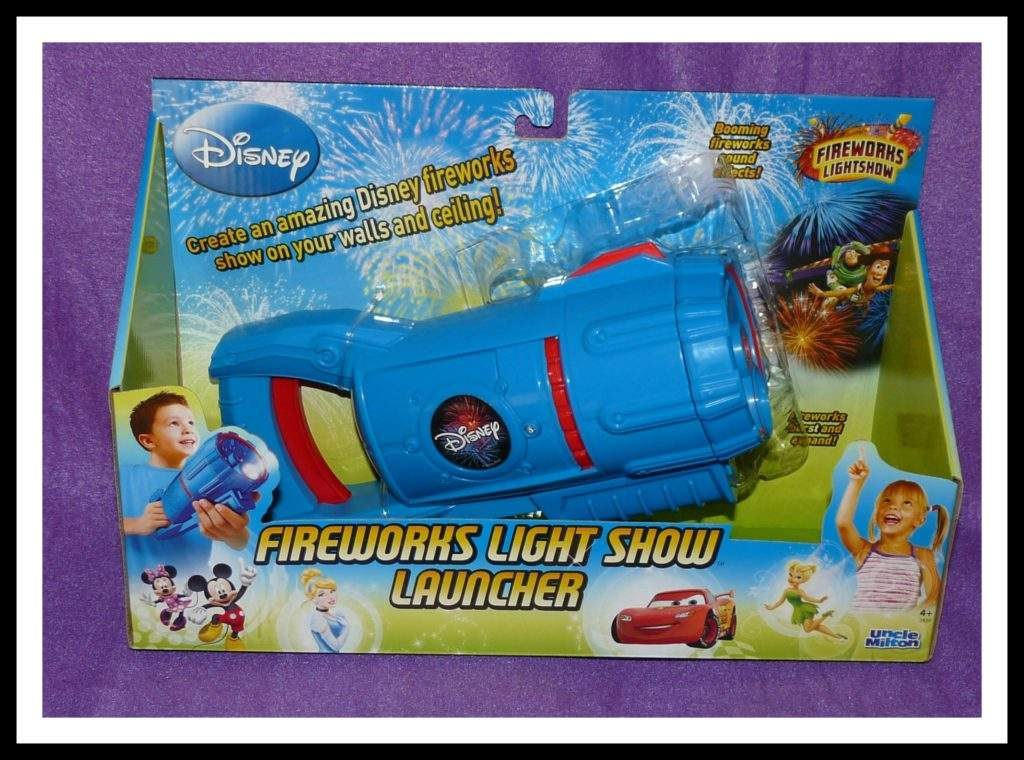 Uncle Milton Fireworks Light Show Launcher Disney