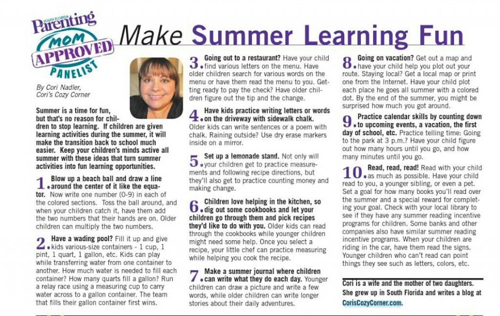 Summer Learning Fun