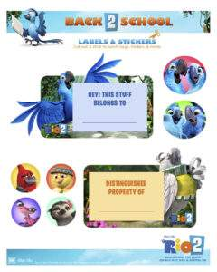 back to school rio 2 labels
