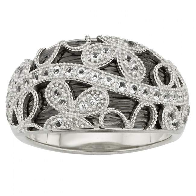 floral lace ring