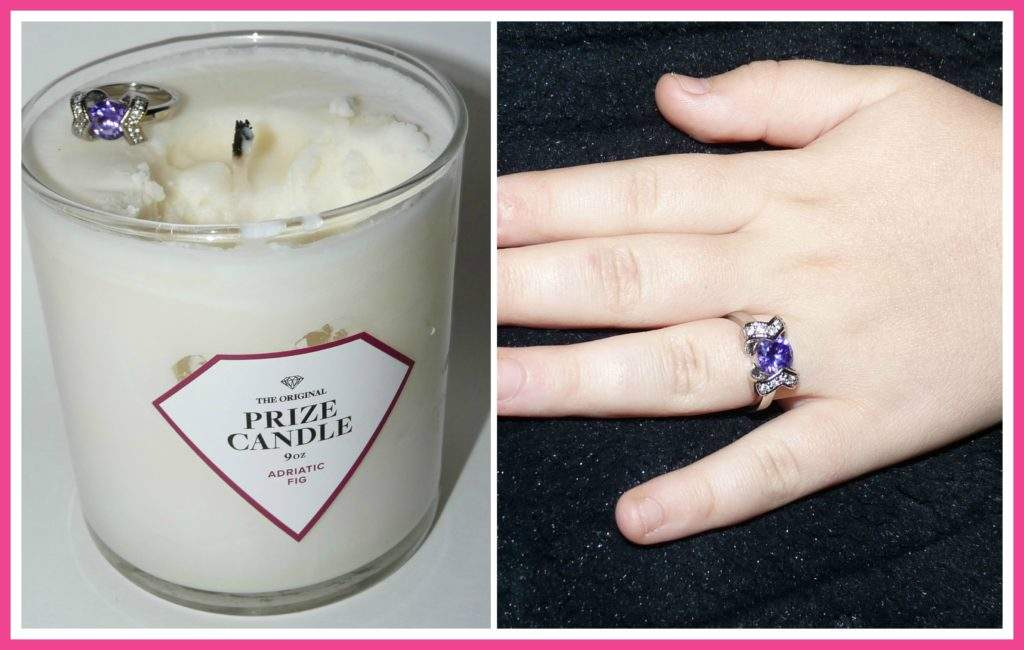 prize candle ring collage