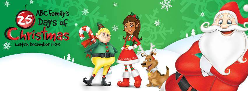 25 Days of Christmas Schedule 2014