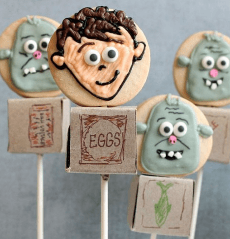 boxtrolls cookie pops