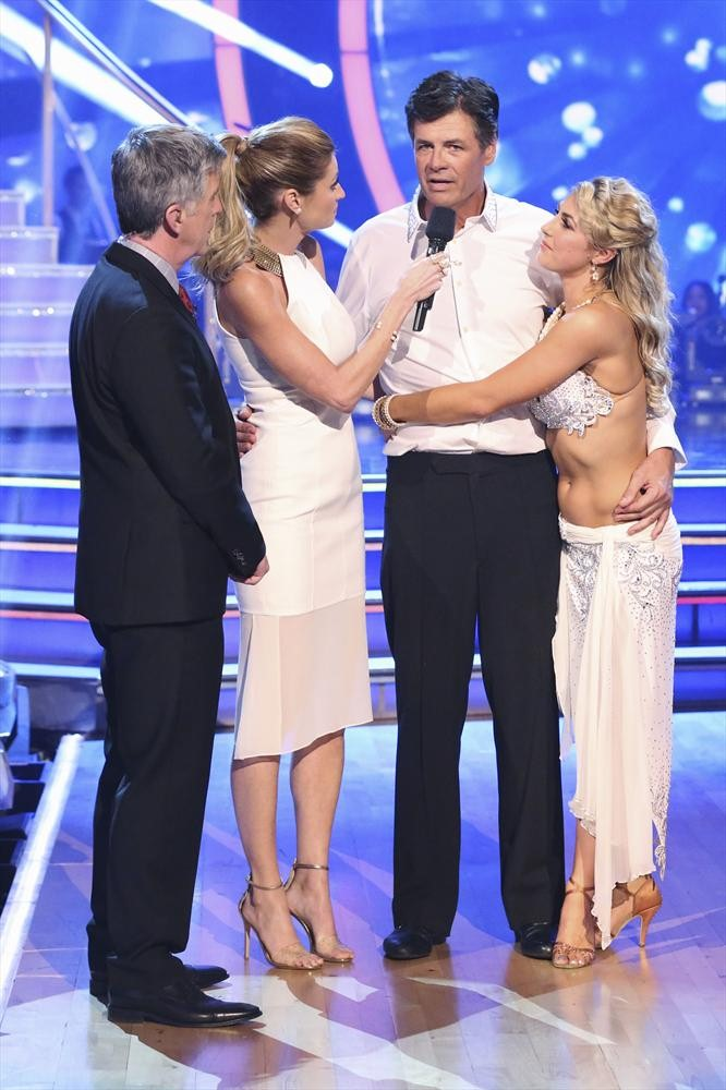 TOM BERGERON, ERIN ANDREWS, MICHAEL WALTRIP, EMMA SLATER