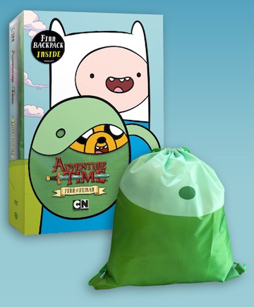 adventure time dvd