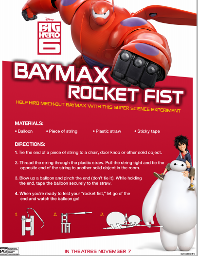 baymax rocket fist