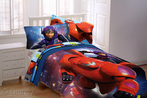 big hero 6 bedding