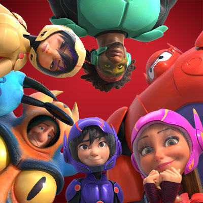 big hero 6 group