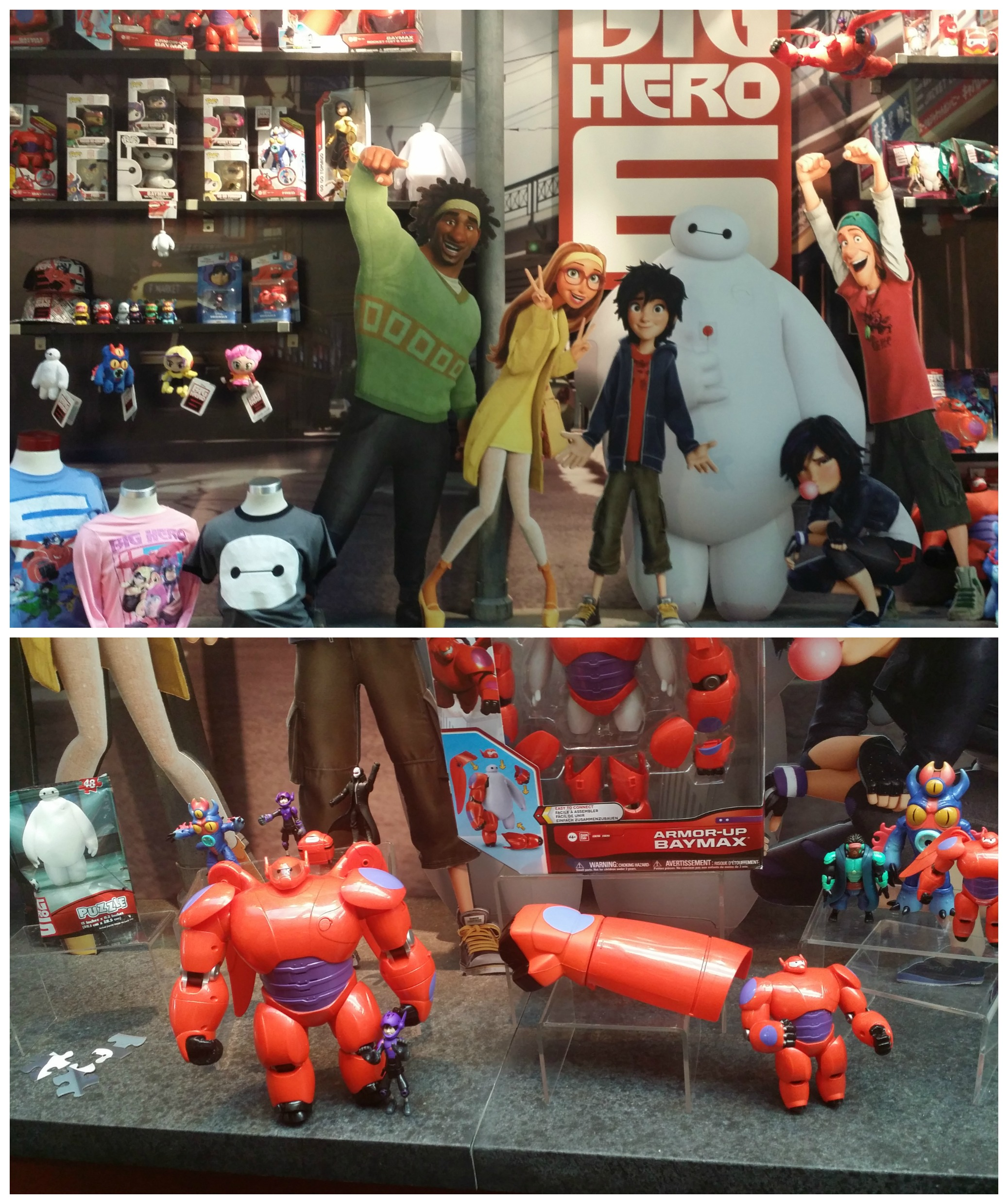 Baymax projection Action Figure 1ST EDITION 1ST VERSION ~ Disney Store ~ Big Hero 6