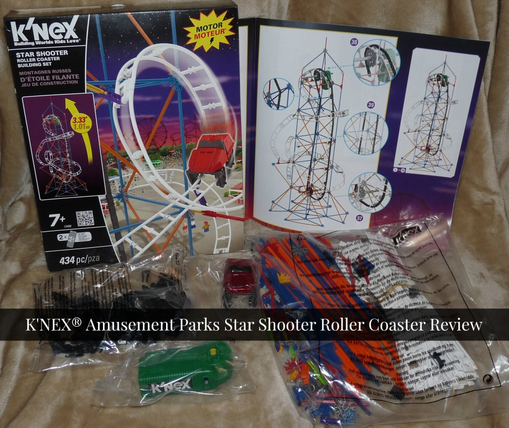 K'NEX® Amusement Parks Star Shooter Roller Coaster Review