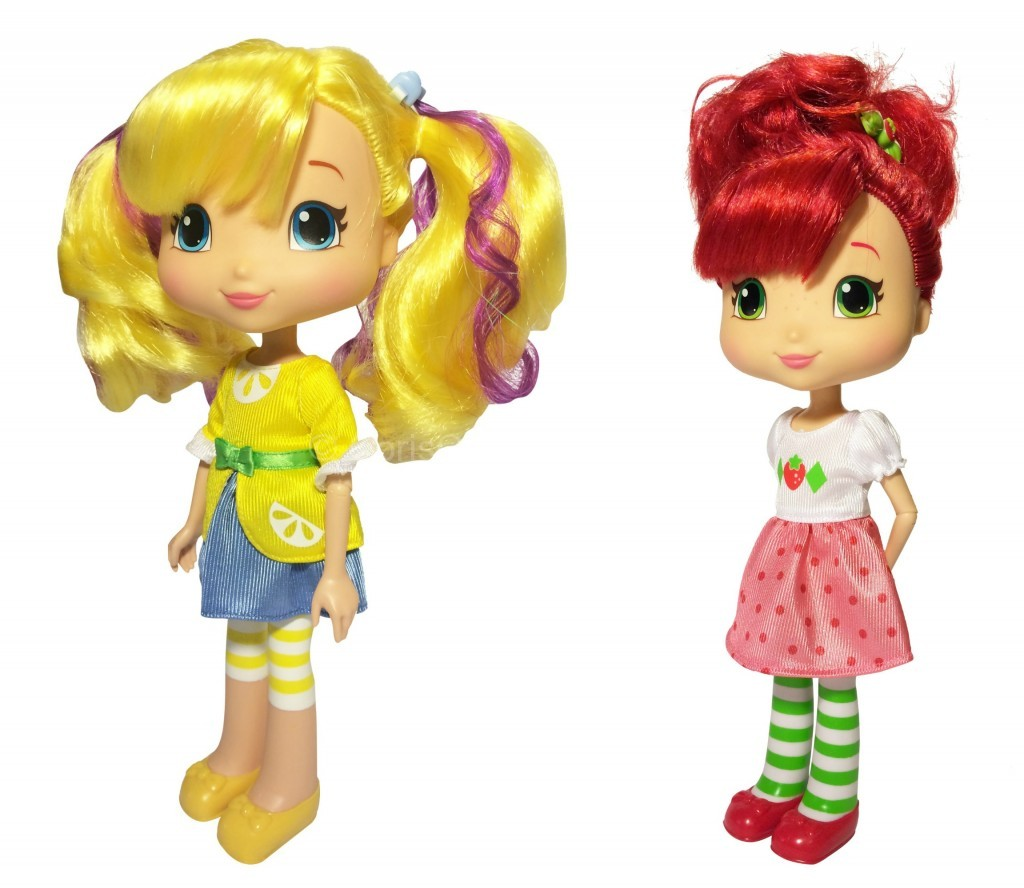 strawberry shortcake styling dolls
