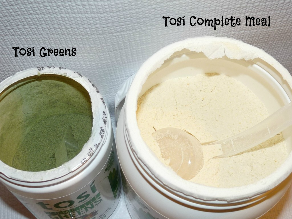 tosi greens and tosi complete meal
